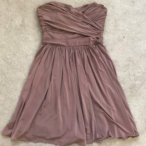 J.Crew Strapless Blush Dress
